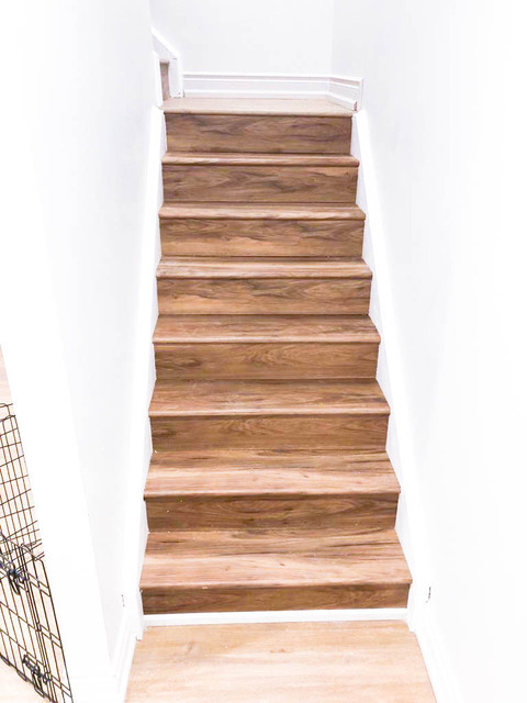 Staircase Planks Install